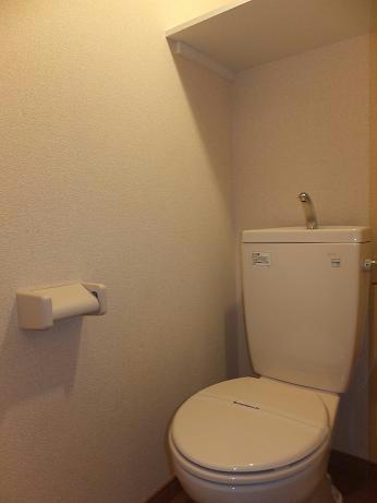 レオパレスLuce 205号室のトイレ