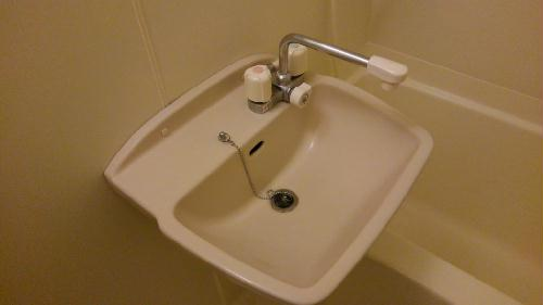 レオパレスペイサージュ 101号室の洗面所