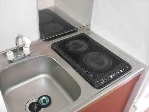 レオパレスペイサージュ 101号室のキッチン