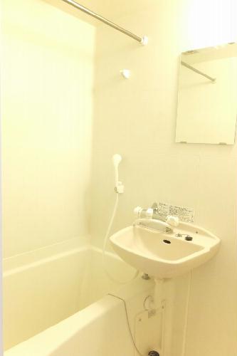 レオパレスリトル アイランド 201号室の風呂