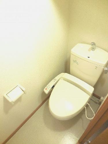 レオパレスキャンサーⅡ 107号室のトイレ