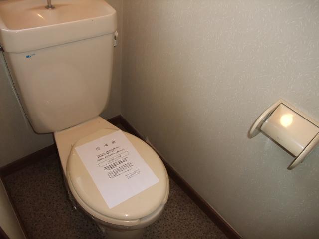 ロイヤルヴィレッジ 203号室のトイレ