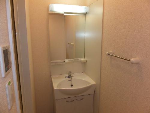 レオネクストアリオール沼田Ⅲ 102号室の洗面所