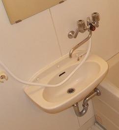 深堀ハイツ 02040号室の洗面所