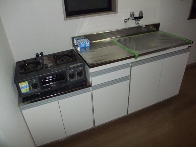 レジデンス三沢Ⅱ 301号室のキッチン
