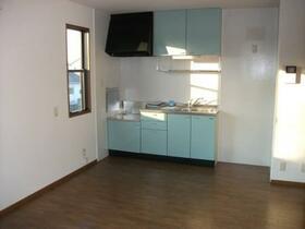 ホルコーラ Ⅰ 101号室のキッチン