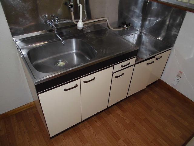 ニューリバーハイツ林 106号室のキッチン