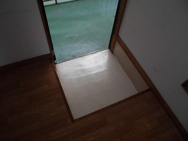 ニューリバーハイツ林 106号室の玄関