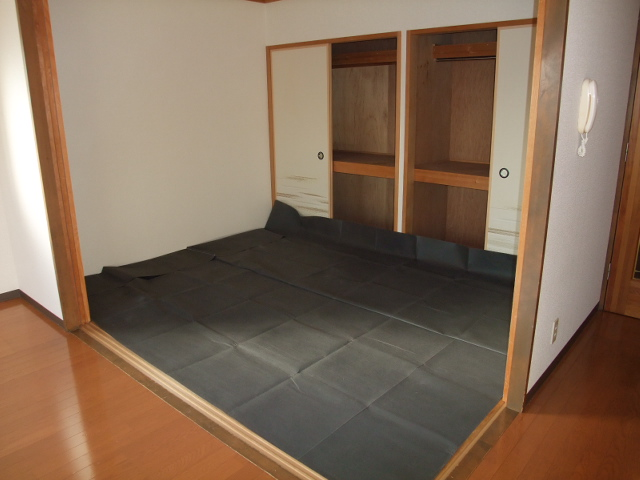 エスポワール 102号室のバルコニー