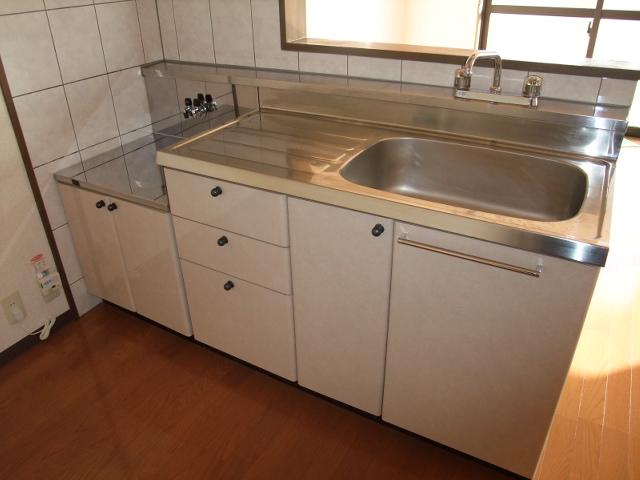 エスポワール 102号室のキッチン