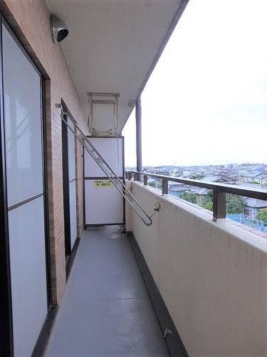 ライオンズマンション高崎 502号室のバルコニー