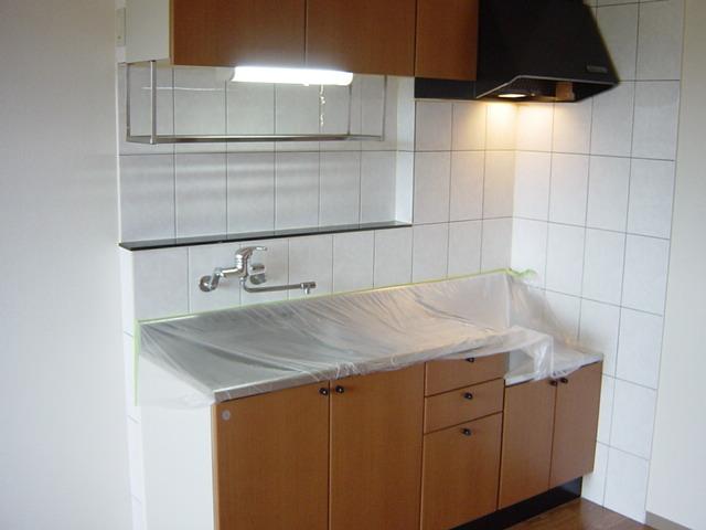 ファンファン 201号室のキッチン