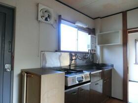 菅原マンション 201号室のキッチン