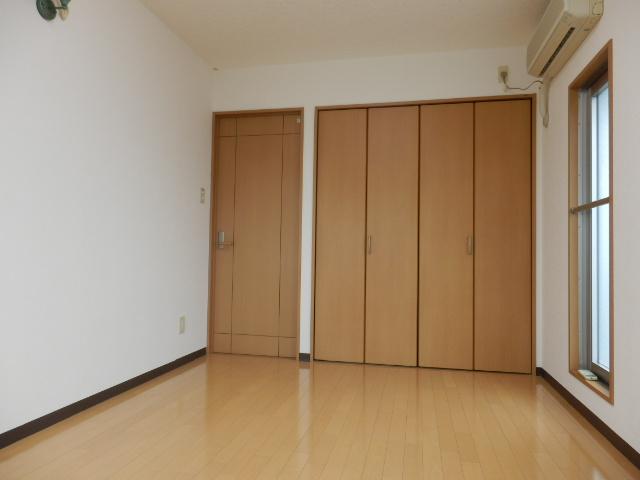 アストラーレ 601号室のベッドルーム