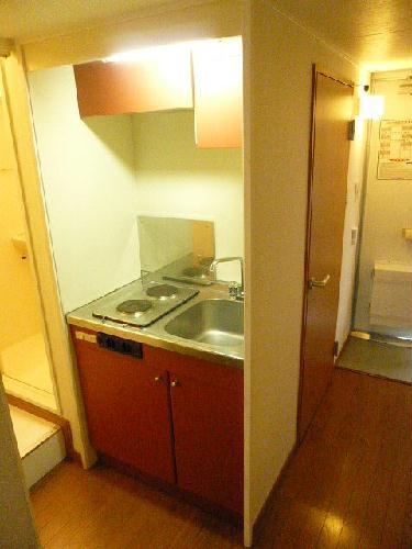 レオパレス天川 108号室のキッチン