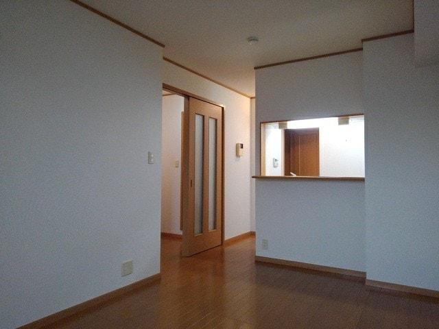 ラ・ボーレA 02020号室のリビング