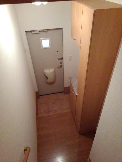 ラ・ボーレA 02020号室の玄関