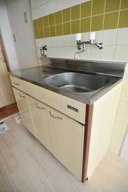 メゾン・ド・パルティ 0205号室のキッチン