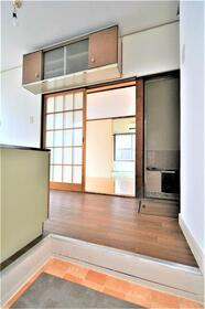 ふじ荘 103号室の玄関
