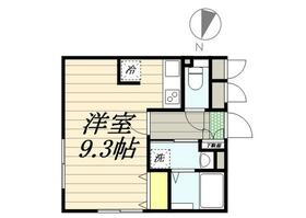 PASEO Sasazuka Ⅱ・0403号室の間取り