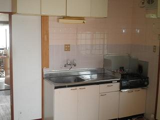 メゾン宮川 3号室のキッチン