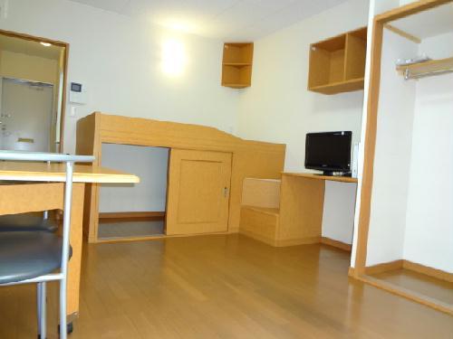 レオパレスeggplant 206号室のリビング