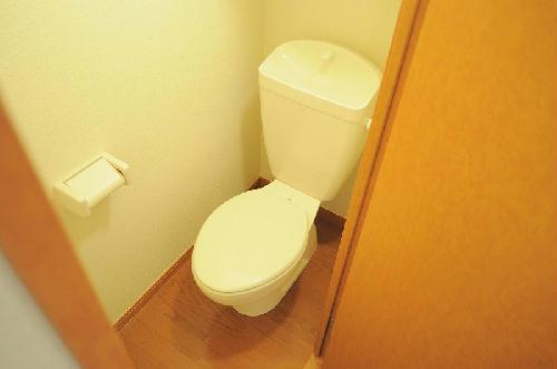 レオパレスeggplant 206号室のトイレ