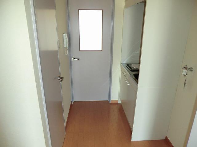 レークハヤⅢ 101号室のバルコニー