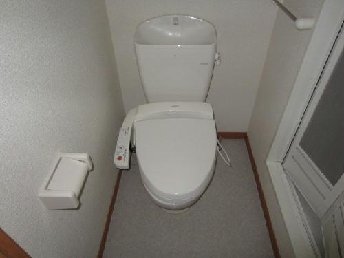 レオパレスアンソレイエ 恵 201号室のトイレ