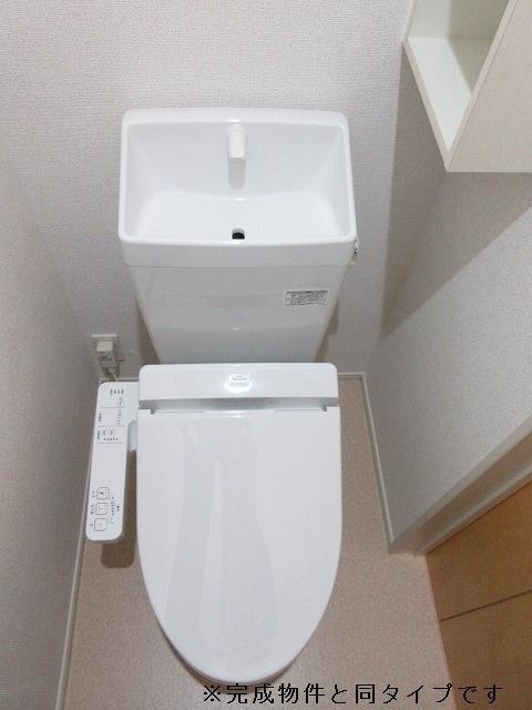 グランメゾン碧 01040号室のトイレ
