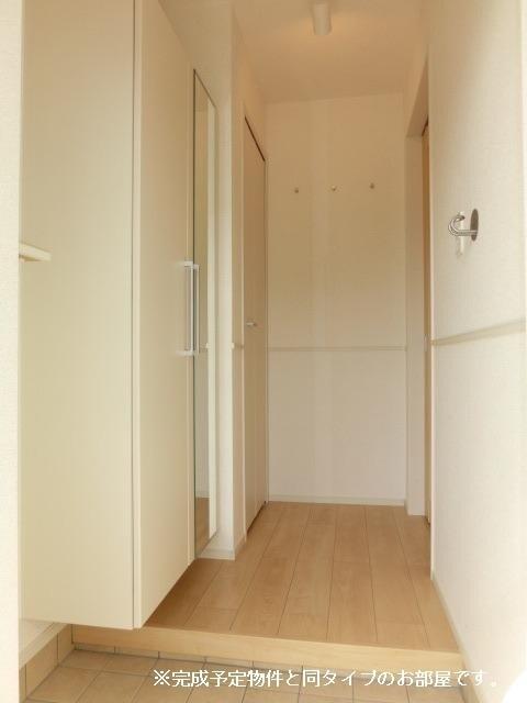 グランメゾン碧 01040号室の玄関