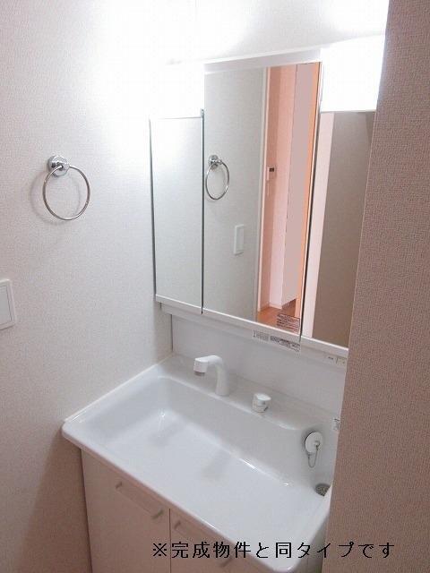 グランメゾン碧 01040号室の洗面所