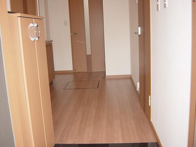 アイフレンド・M 202号室の玄関