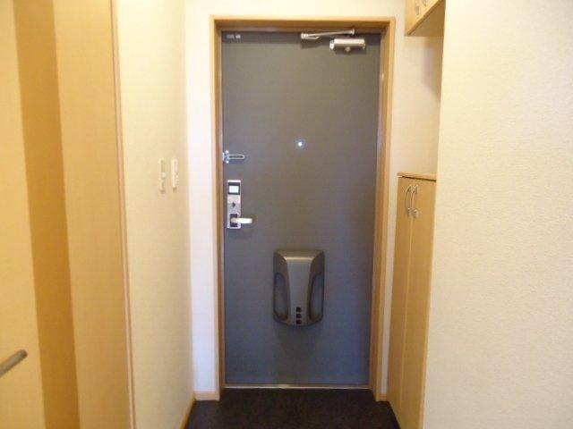 ヴォーノシロスナ 203号室の玄関