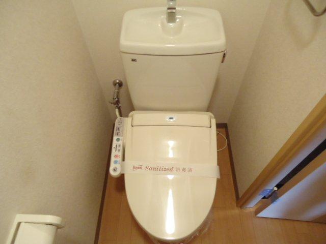 ヴォーノシロスナ 203号室のトイレ