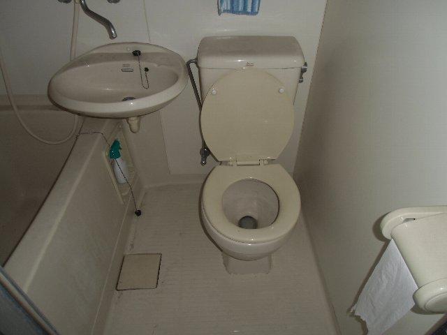 ザ・ホタル D号室のトイレ