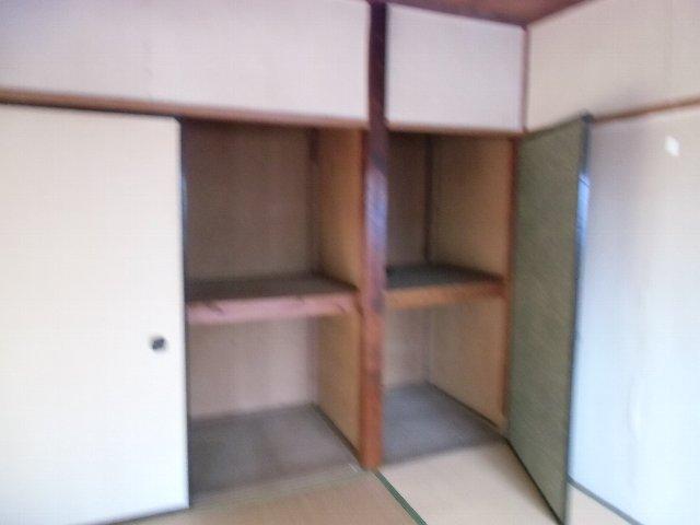 鈴木荘 1-1号室の収納