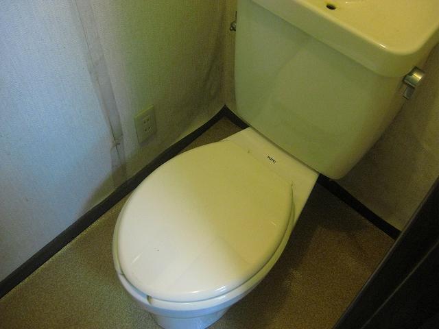 ザ・ホタル A号室のトイレ