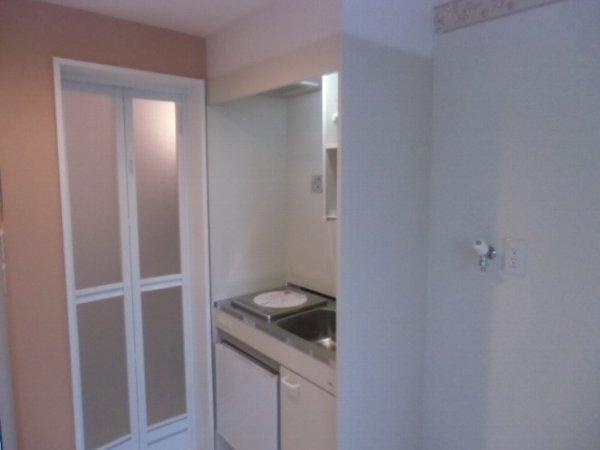 ユナイト衣笠ハロルド・クラーク 205号室のキッチン