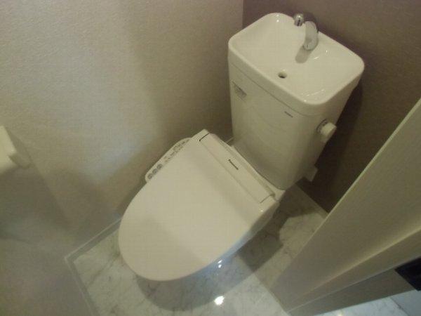ユナイト衣笠ハロルド・クラーク 205号室のトイレ