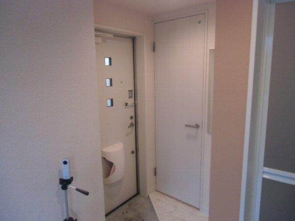 ユナイト衣笠ハロルド・クラーク 205号室の玄関