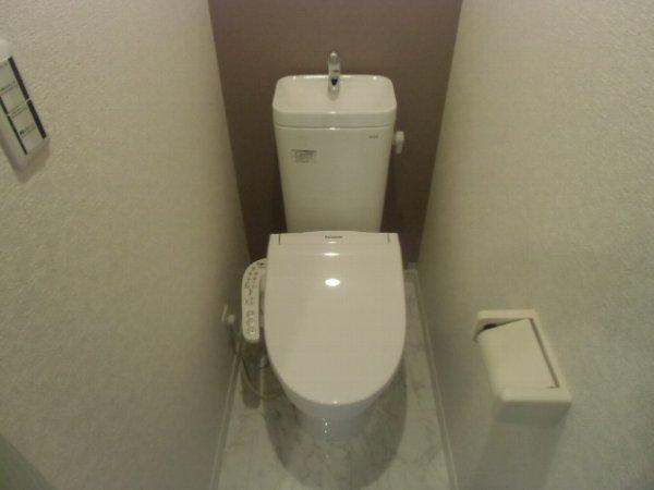 ユナイト衣笠ハロルド・クラーク 207号室のトイレ