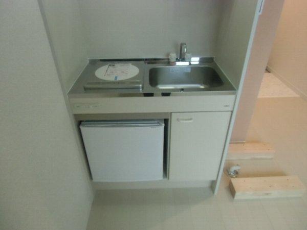 ユナイト衣笠ハロルド・クラーク 207号室のキッチン