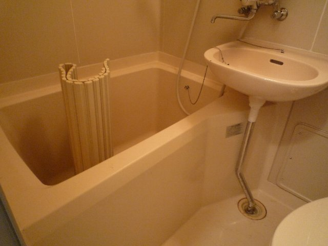新美アパート 202号室の風呂