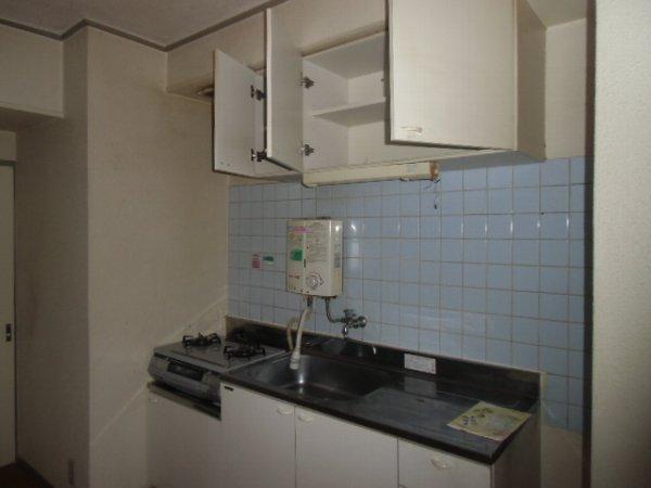 ガーベラマンション汐入 303号室のキッチン