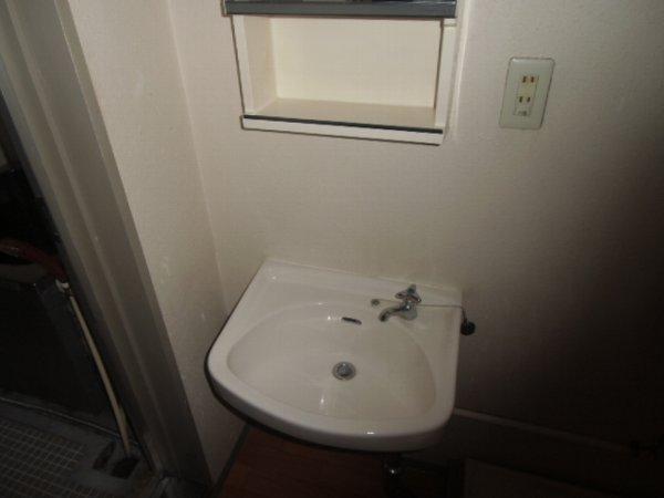 ガーベラマンション汐入 303号室の洗面所
