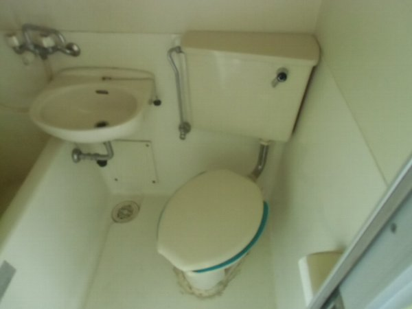 プラザ・ドゥ・ベルテックスB棟 101号室のトイレ