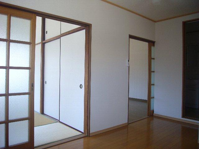 瀬戸アパート 2-2号室のベッドルーム