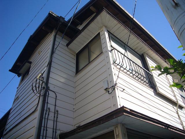 小崎アパート外観写真