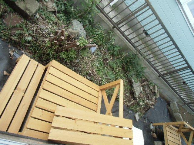 グレーシア横須賀中央 103号室のバルコニー